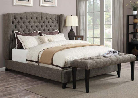 ACMEF20900Q-Faye Chocolate Queen Bed