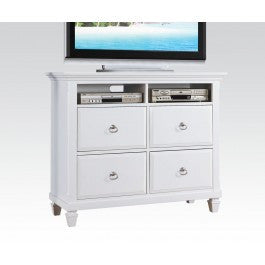ACMEF22427-White TV Console