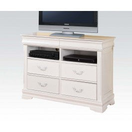 ACMEF30133-White TV Console