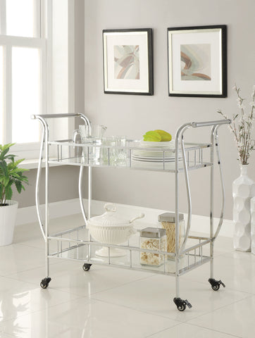 COASTER910095-SERVING CART