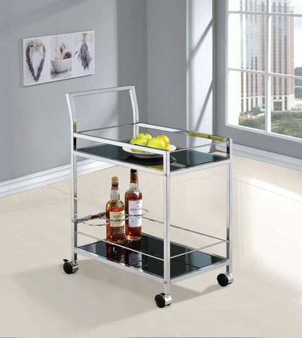 COASTER910132-SERVING CART