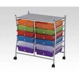 ACMEF92103-Storage Cart W/12 Drawers