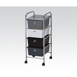 ACMEF92105-Storage Cart W/4 Drawers