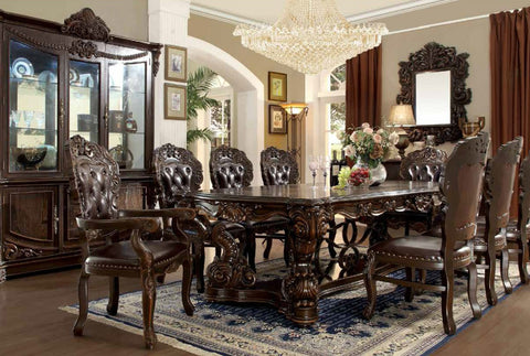 HD-8006 DINING TABLE SET 8 CHAIRS