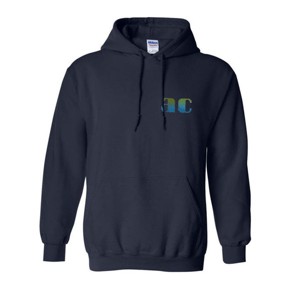 ANIMAL COLLECTIVE AC BLUE PULLOVER HOODIE