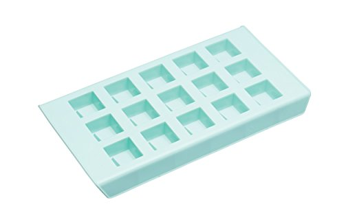 KitchenCraft Chocolate Chunks Silicone Mould  Blue