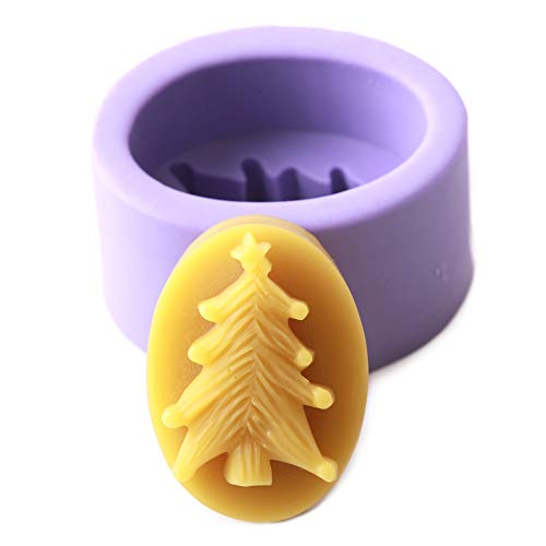 World Of Moulds Christmas Tree Mould  Silicone  9 x 6.5 x 4.5 cm