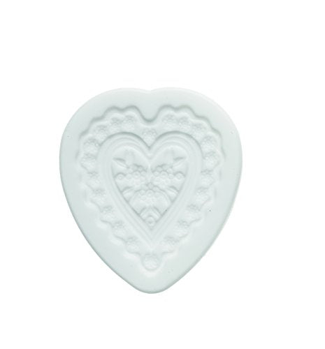 silikomart Silicone Mould Sugarflex Flower Heart  White