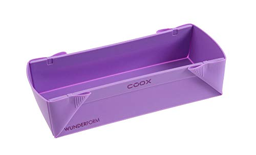Wunderform Coox Silicone Baking Mould L 30 x 11 x 7 cm lilac