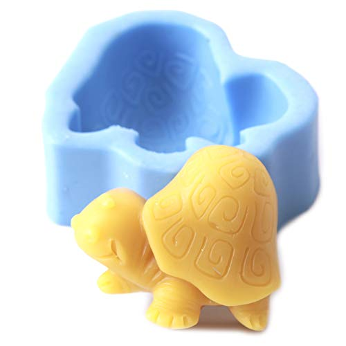 World Of Moulds Cartoon Turtle Mould  Silicone  6.8 x 6.2 x 2.6 cm
