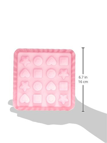 silikomart 22.753.35.0169 EC03 Sweet Treats Sweet Mould Silicone Pink