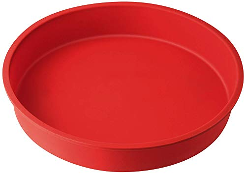 Dr.Oetker Pie mould Flexxibel of Silicone Ø26 cm in red  26 x 26 x 7 cm