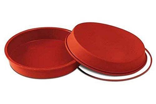 silikomart Silicone Mould  Round  200 mm  Terracotta  8-inch