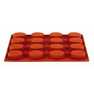 Pavoni N951 Formaflex Silicone 16 Oval Mould
