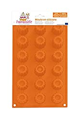 Framboiselle fra8810 Silicone Mould 33 x 18 x 5 cm Orange