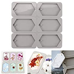 6-Cavity 3D Hexagonal Soap Silicone Fondant Mould Ice Cube Tray Making Handmade Aromatherapy Wax Plaster Epoxy Soap Maker Molds Cake Decorating Chocolate Cookies Baking Mold Sugarcraft DIY