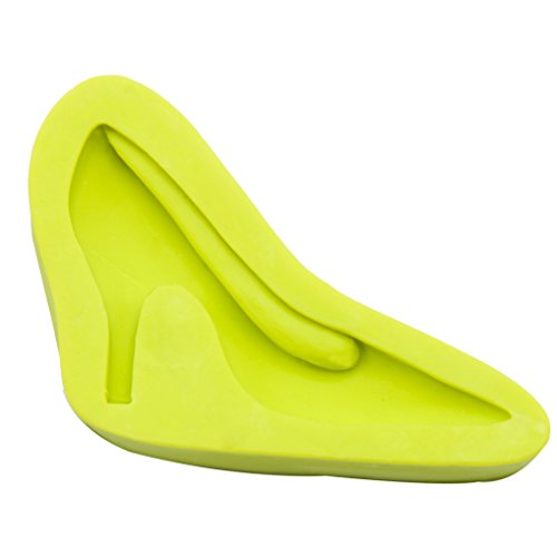 Silicone Fondant Mould  High Heel Shoe Silicone Cake Mould Sugarcraft Candy Mold DIY Cake Decorating Tools