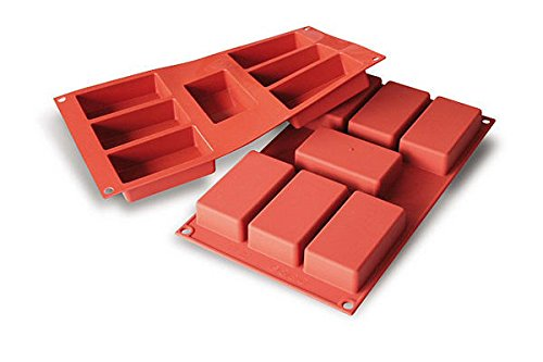 silikomart: SiliconFlex SF110 Silicone Mould No.7 Rectangles