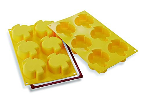 Silikomart Silicone Mould No. 6 Doves  Yellow
