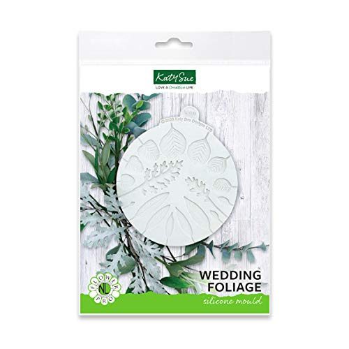 Wedding Foliage Silicone Sugarpaste Icing Mould  Flower Pro by Nicholas Lodge for Cake Decorating  Crafts  Cupcakes  Sugarcraft  Candies  Cards and Clay  Food Safe Approved  Made in The UK
