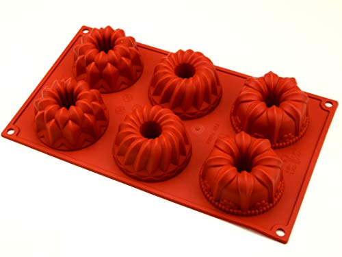 Pati-Versand Silicone Mould  red  30cm x 17 5cm