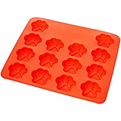 AmazonBasics Silicone Mould with Puppy Dog Paw Shape