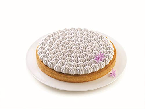 Silikomart 23.201.13.0065 Kit Tarte Meringué Mould  Non-Stick Plastic Material and Silicone  Grey