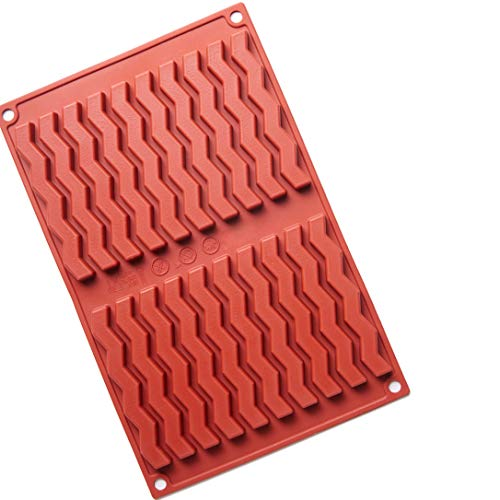 Lightning Silicone Mould  20-Cavity Baking Mould Cake Pan Biscuit Chocolate Mould for Cake Decoration  Ice Cube Tray