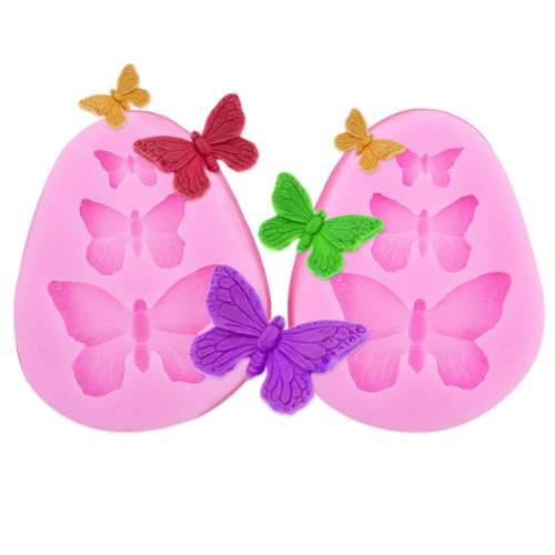 Moldyfun 2x Butterfly Shaped Silicone mould