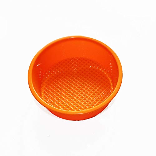 X-Haibei Flexible 5 MINI Round Cake Mold Pan Bakeware Tray Silicone Mould Patry Maker