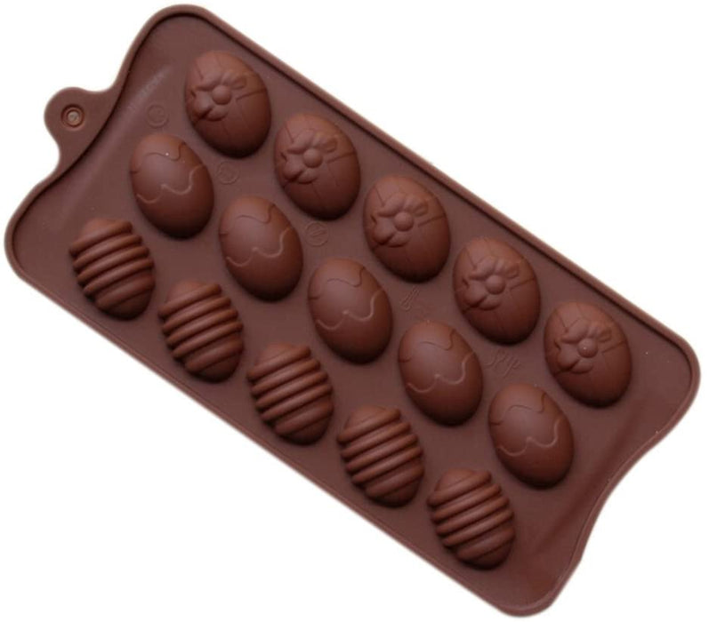 Moldyfun Easter Egg Silicone Chocolate Mould
