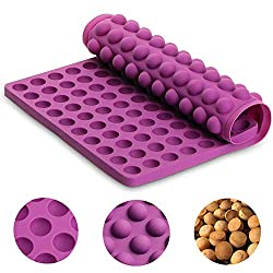 BESLIME Silicone Baking Mat - Dog Food Mold Baking Molds for Pets Non-Stick  Reusable Baking Mat Hemisphere Mould Dog Treats & Biscuits