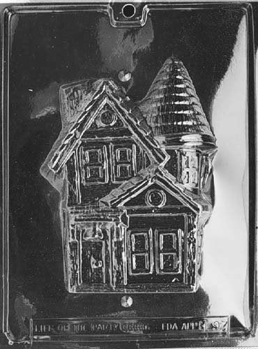 Moldyfun Home Chocolate Factory Haunted House Chocolate mold Set