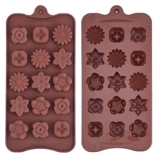 Moldyfun Silicone Chocolate moulds Flowers