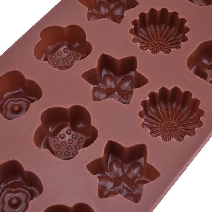 Silicone Chocolate molds Flowers from Moldyfun