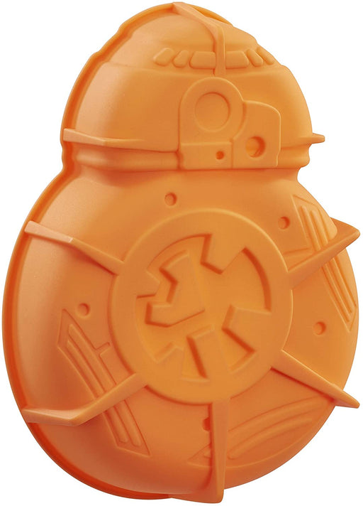Moldyfun Star Wars EPVII: Silicone Cake Mould: BB-8  Orange  25 x 19 x 7 cm