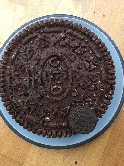 Oreo Cookie - giant biscuit silicone cake mold from Moldyfun