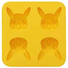 Pikachu silicone baking mould