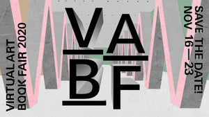 「VIRTUAL ART BOOK FAIR(VABF)」出展のお知らせ