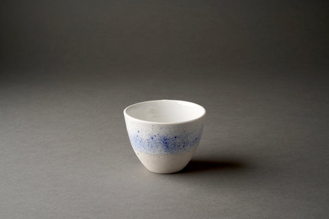 Studio Freckles /freckled blue fragments cup