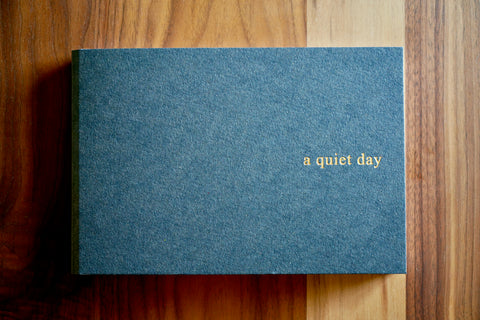 ELVO × a quiet day collaboration notebook