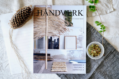 HÅNDVÆRK BOOKAZINE NO.4 [ the plant based ] - a quiet day