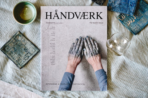 HÅNDVÆRK BOOKAZINE NO.2 [ the textile issue ] - a quiet day