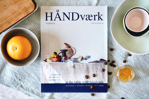 HÅNDVÆRK BOOKAZINE NO.1 [ at the table with ] - a quiet day
