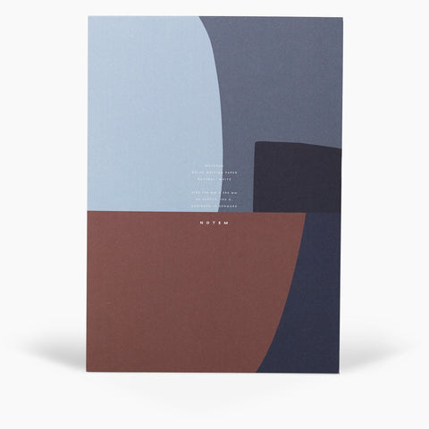 NOTEM - JO Notepad, Midnight Shapes - - a quiet day