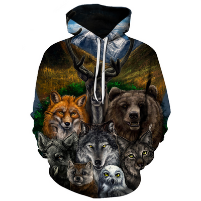 Limited Edition Animal Pack Hoodie