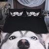Hand Stitched Wolf & Husky Bedding Sets -- Limited Supply!