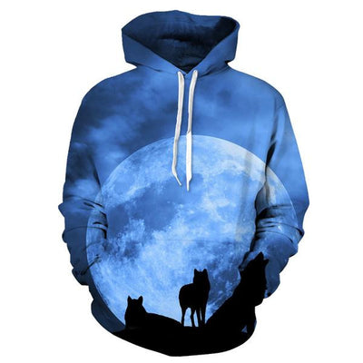 Wolf Zip-Up & Hoodies (Bundle)