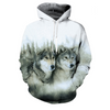 Hand-Stitched Wolf & Husky Hoodies - Limited Edition!