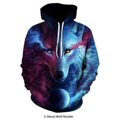 ⛄ Handmade Wolf & Husky Hoodies ⛄ - Limited Supply!